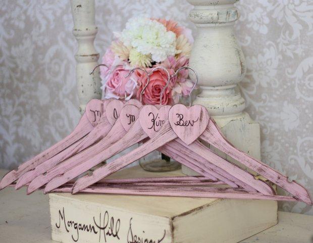 percha personalizada boda