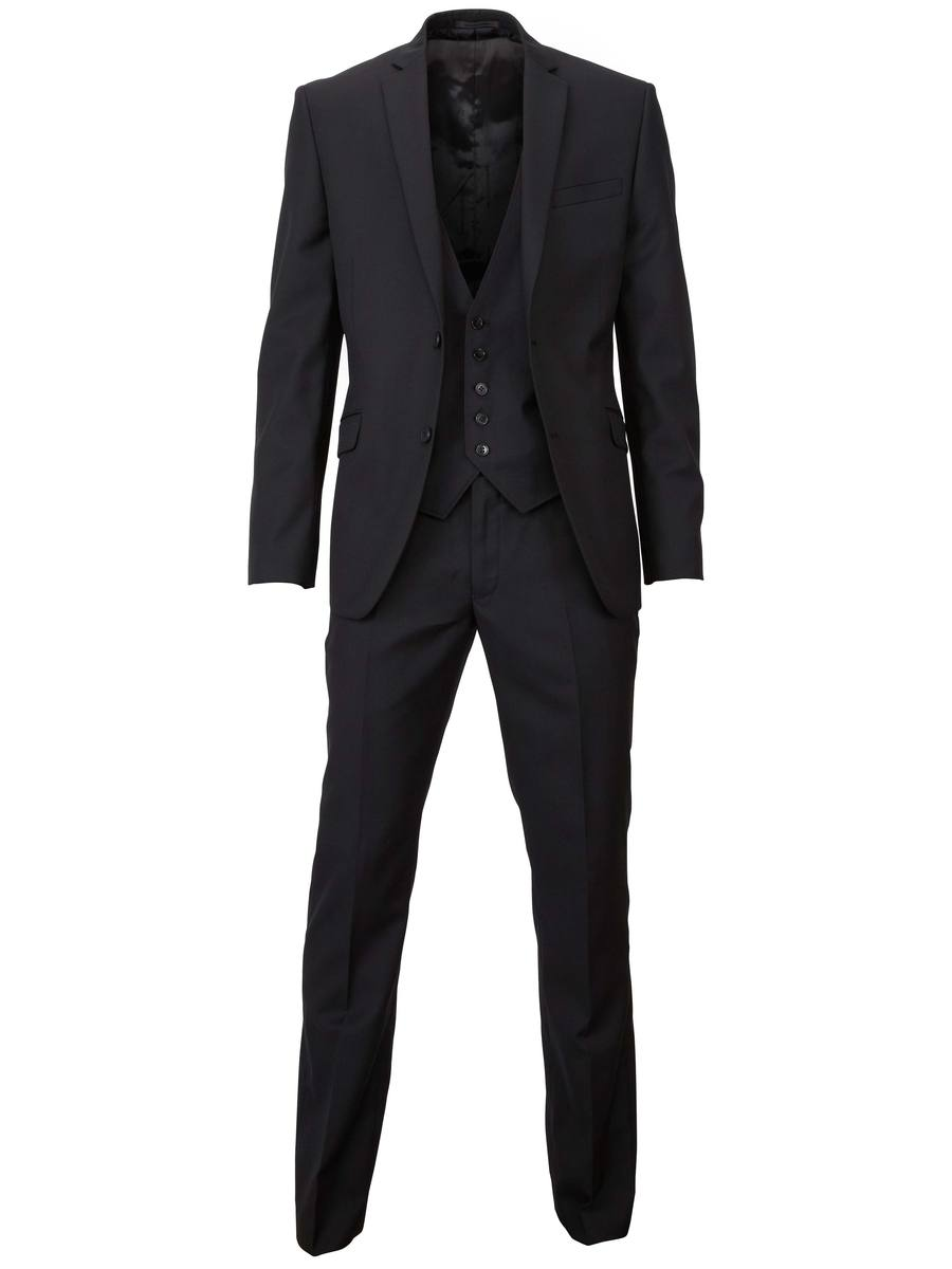 Traje negro Selected