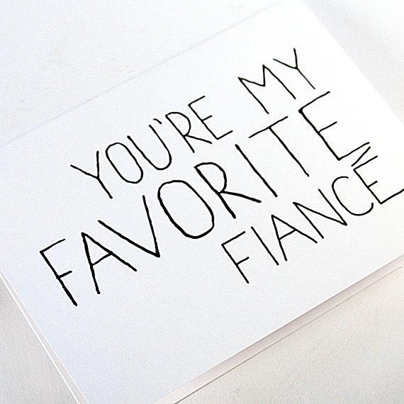 Favorite fiancé
