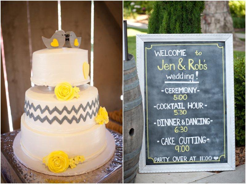 8-chevron-wedding-cake-chalkboard
