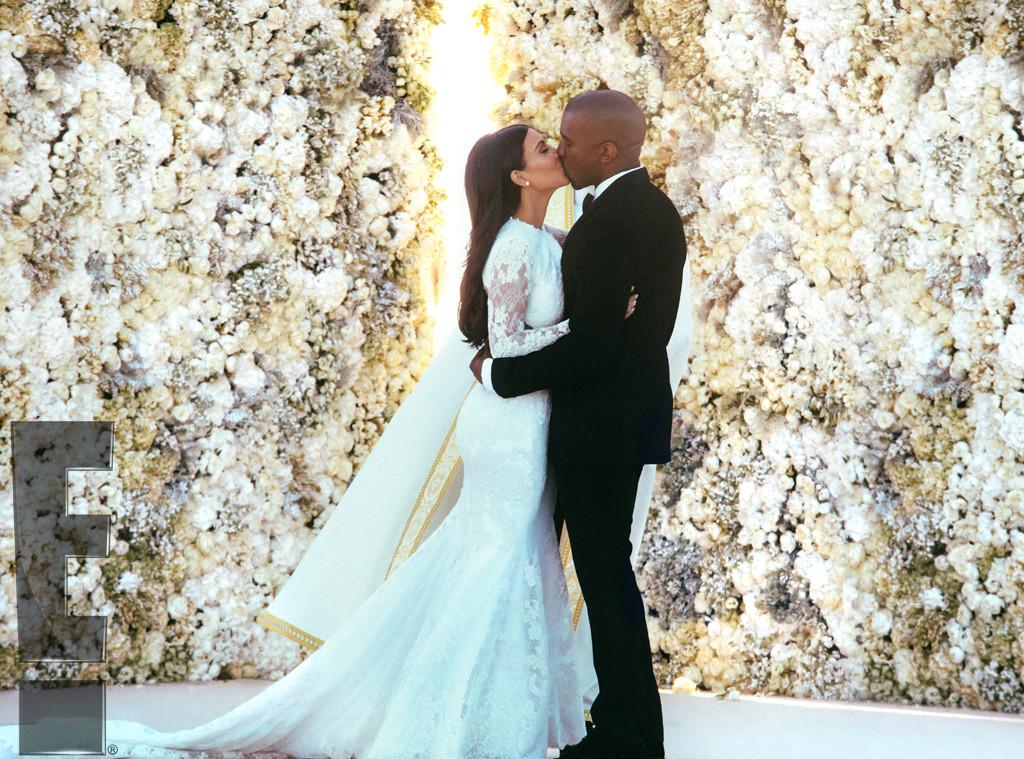 Kim Kardashian y Kanye West boda