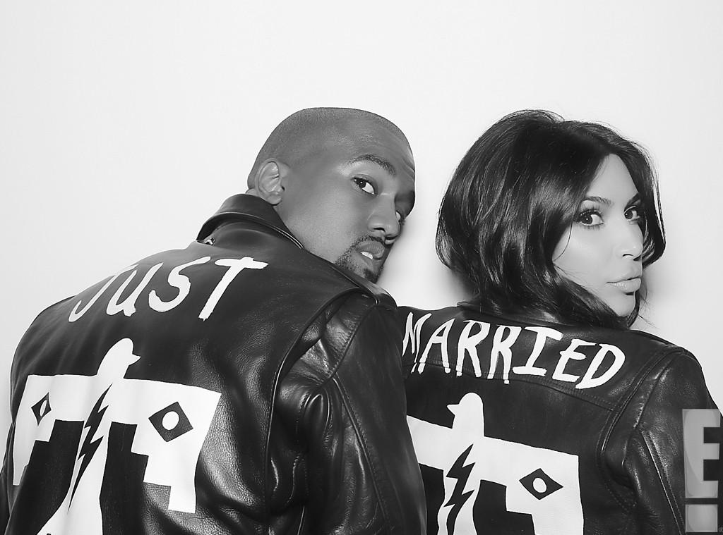 Kim Kardashian y Kanye West just married