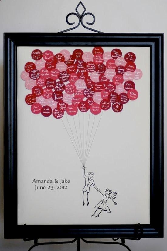 Firmas invitados globos
