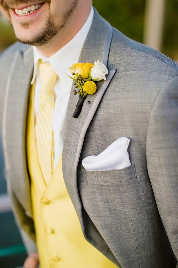 Yellow waistcoast
