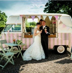 Furgoneta helados vintage boda