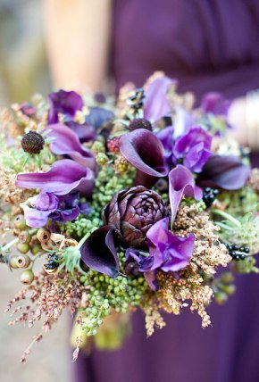 Ramos de otoño revista Brides 2