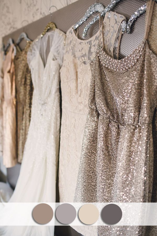 Vestidos damas de honor lentejuelas