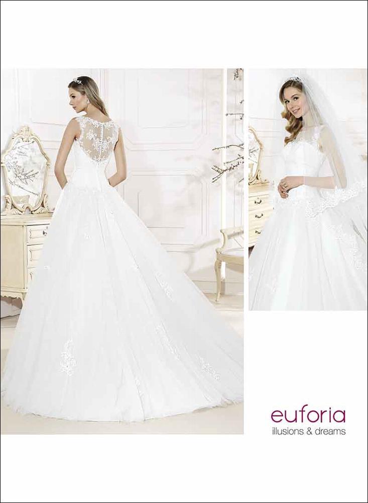 Vestido de novia E16308 b