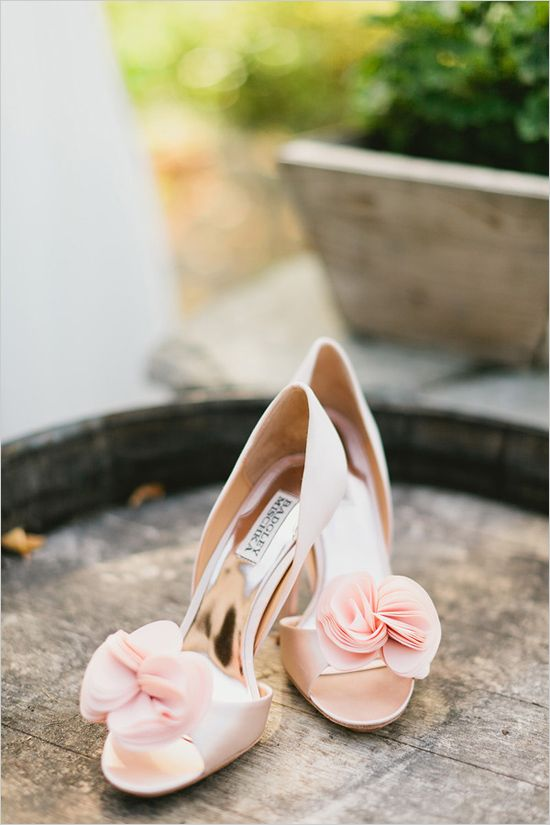BM peach shoes