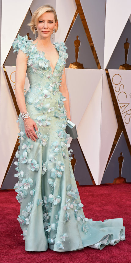 Mandatory Credit: Photo by David Fisher/REX/Shutterstock (5599371dd) Cate Blanchett 88th Annual Academy Awards, Arrivals, Los Angeles, America - 28 Feb 2016
