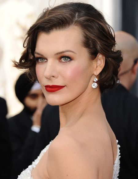 Mandatory Credit: Photo by Startraks Photo / Rex Features (1638906as) Milla Jovovich 84th Annual Academy Awards, Arrivals, Los Angeles, America - 26 Feb 2012