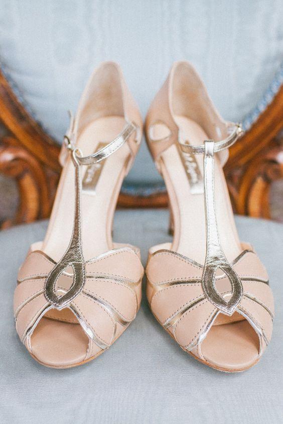 Zapatos toque vintage