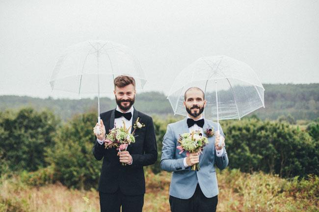 Alberto y Yago boda bodega abandonada 2