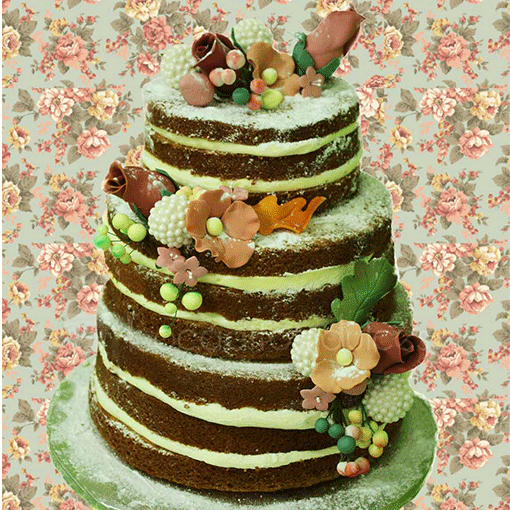 Bocaditos Dulces naked cake