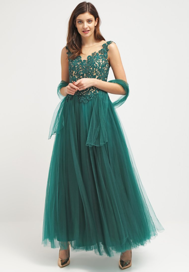 Vestido emeraldgrün